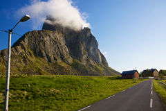 Road on Lofoten Stock Photos