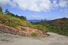 Scenic road on Mount Zimbvabve Royalty Free Stock Photo