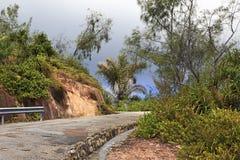 Scenic road on Mount Zimbvabve Royalty Free Stock Photos