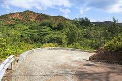 Scenic road on Mount Zimbvabve Stock Images