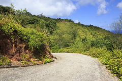 Scenic road on Mount Zimbvabve Stock Photos