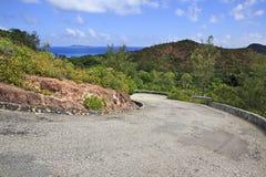 Scenic road on Mount Zimbvabve Stock Photography