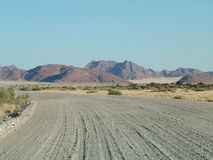 Scenic Road in Namibia Royalty Free Stock Images