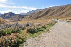 Scenic road, New Zealand Stock Image