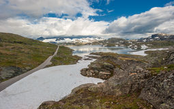 Scenic 55 road, Norway Stock Photos