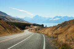 Scenic Road Stock Photography
