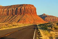 Scenic road UT-211 (2) Stock Image
