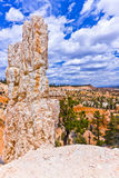 Scenic Rock Formations of Bryce Canyon Amphitheatre, Utah Royalty Free Stock Image