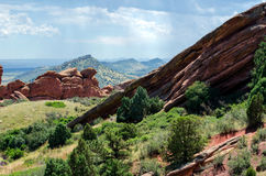 Scenic Rock formations in colorado Royalty Free Stock Photography
