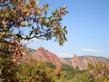 Scenic rock view Royalty Free Stock Photography