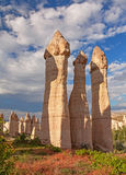 Scenic Rocks Cappadocia Royalty Free Stock Images