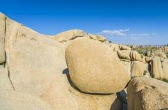 Scenic rocks in Joshua Tree Royalty Free Stock Images