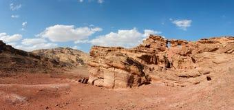 Scenic rocky desert landscape Stock Image