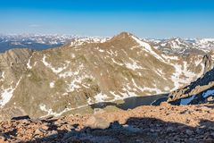 Scenic Rocky Mountain Landscape. The scenic landscape of the Colorado rocky mountains in summer Stock Photography