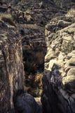 Scenic rocky mountains in Jijona Royalty Free Stock Photography