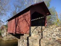 Scenic Roddy Road Bridge in Spring Royalty Free Stock Photos