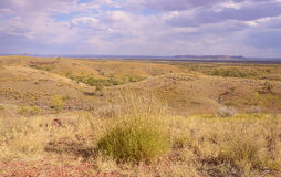 Scenic Rollling Hills, Outback Central Australia. Stock Photo