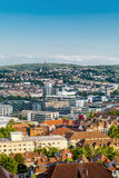 Scenic rooftop view of Stuttgart, Germany Stock Image
