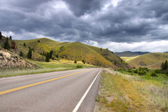 Scenic route in Montana Royalty Free Stock Photography