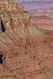 Scenic Grand Canyon National Park. The scenic rugged landscape of the grand canyon national Park from the south rim Stock Image