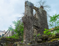The scenic ruins Stock Images