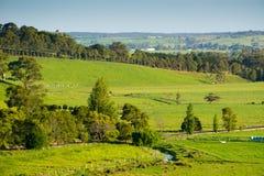 Scenic rural Australia stock image