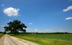 Scenic rural landscape Royalty Free Stock Images