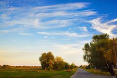 Scenic rural landscape Royalty Free Stock Photos