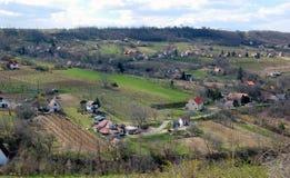 Scenic Rural landscape Stock Images