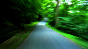 Scenic Rural Road FAST stock footage