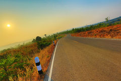 Scenic Rural Road Stock Photography