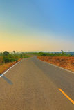 Scenic Rural Road Royalty Free Stock Photo