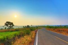 Scenic Rural Road Stock Photo