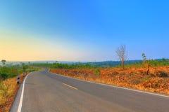 Scenic Rural Road Stock Photos