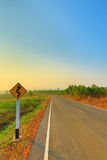 Scenic Rural Road Stock Images