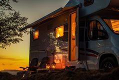 Free Scenic RV Camping Spot Stock Photos - 159855893
