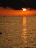 Scenic`s sunset Stock Photography