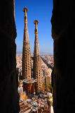 Scenic Sagrada Familia  Stock Photography