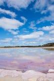 Scenic Salt Lake reflection Australia Royalty Free Stock Photography