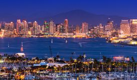 Scenic San Diego Panorama Royalty Free Stock Photos
