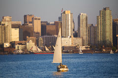 Scenic San Diego skyline stock images