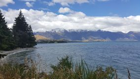 Scenic scenery of Queenstown, New Zealand royalty free stock images