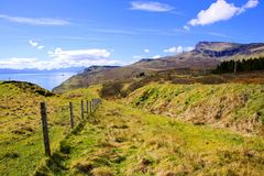 Scenic Scottish highlands Royalty Free Stock Photography