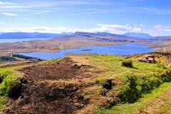 Scenic Scottish lochs Royalty Free Stock Images