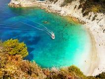 Greek Islands, Sea Cliffs, Coast Landscape, Beaches. Scenic sea cliffs, coast landscape and beaches, Greek Islands. Cyclades - Greece. Europe stock photos