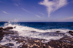 Scenic sea view Stock Photography