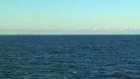 Scenic seascape stock video footage