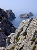 Scenic seascape in Brittany, France Stock Photo