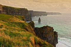 Scenic seascape on the west coast of ireland Stock Photos