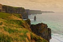Scenic seascape on the west coast of ireland Stock Photos